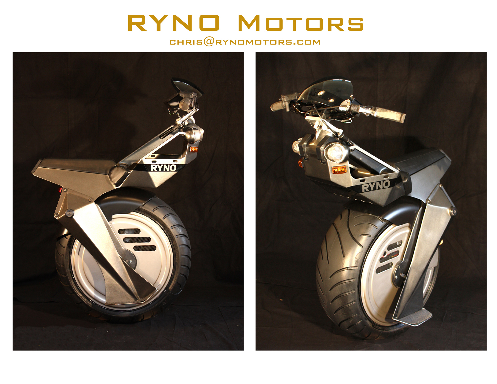 Ryno Motor; Motor 1 Roda yang Unik, Sporty dan Ramah Lingkungan - Video